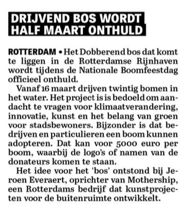 De Telegraaf 27-1-2016